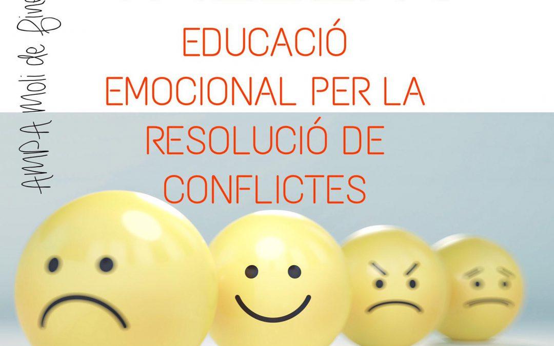 COMISSIÓ DE FORMACIÓ: TALLER D'EDUCACIÓ EMOCIONAL PER LA RESOLUCIÓ DE CONFLICTES