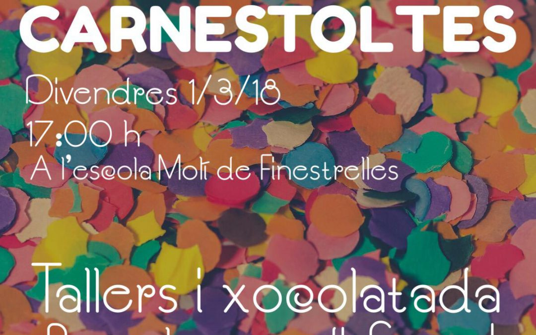 FESTA DE CARNESTOLTES 2019