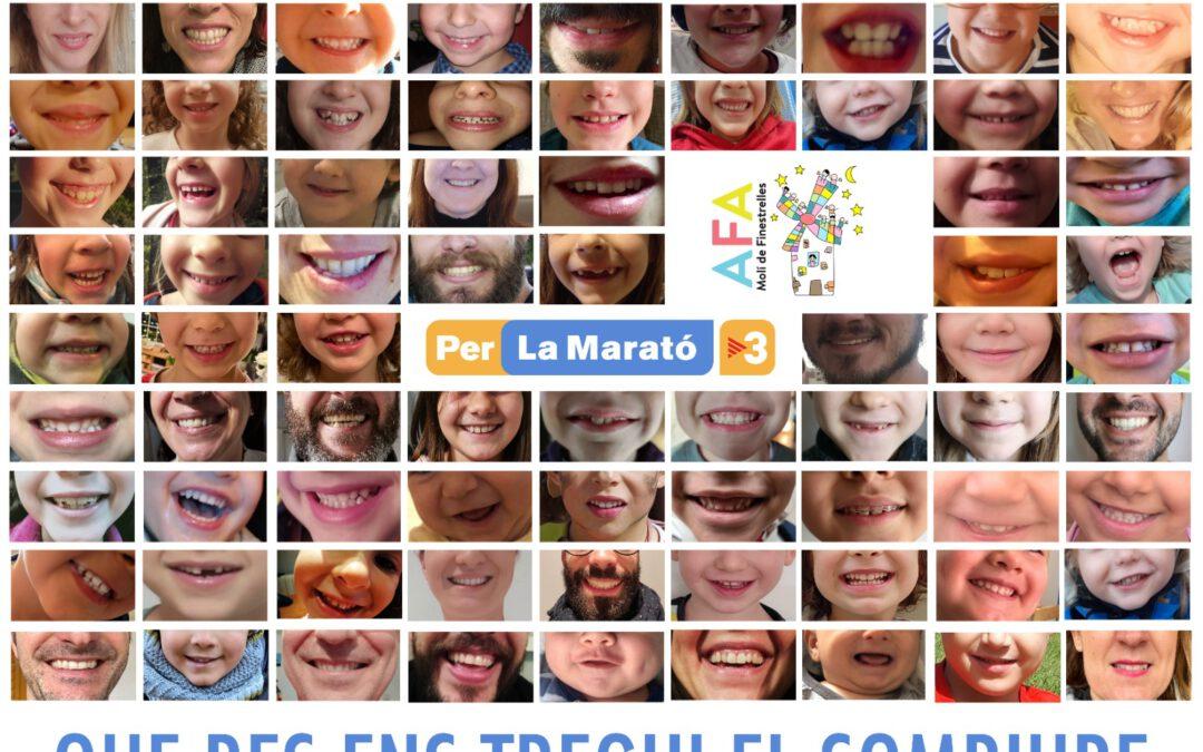 Les famílies del Molí, amb La Marató 2020
