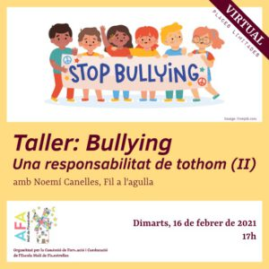 Cartell del taller bullying